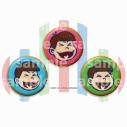 【グッズ-バッチ】おそ松さん クッキー6つ子缶バッジセット お兄ちゃんver.の画像