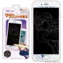 【グッズ-携帯グッズ】マジカルプリントガラス iPhone6Plus-8Plus 劇場版「Fate/stay night[Heaven's Feel]」 02セイバーの画像