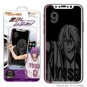 【グッズ-携帯グッズ】黒子のバスケ第二弾  マジカルプリントガラス iPhoneX/Xs 06紫原の画像