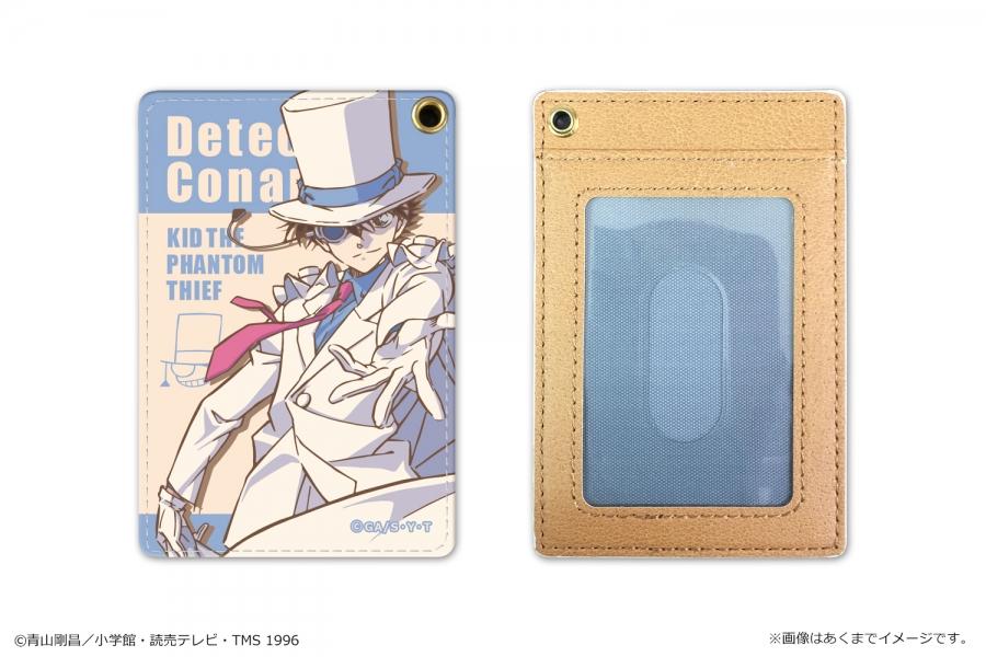 【グッズ-パスケース】名探偵コナン PUパスケース Vol.2 03 怪盗キッド