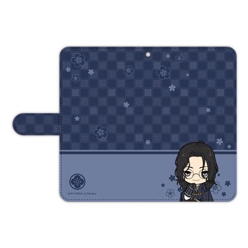 刀剣乱舞-ONLINE- ぽてだん! 手帳型モバイルフォンケース(フリーサイズ)79:南海太郎朝尊_0