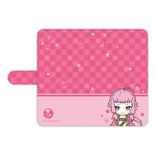 刀剣乱舞-ONLINE- ぽてだん! 手帳型モバイルフォンケース(フリーサイズ)81:北谷菜切_0
