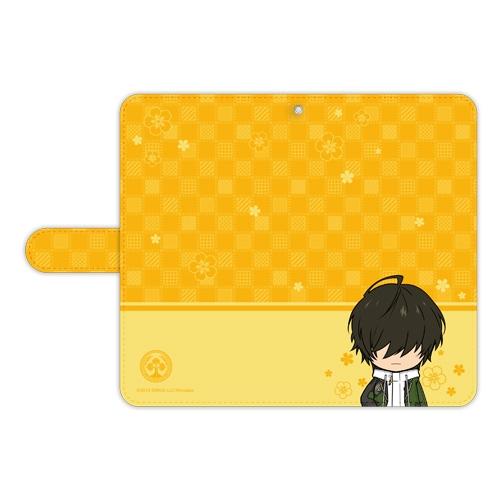 刀剣乱舞-ONLINE- ぽてだん! 手帳型モバイルフォンケース(フリーサイズ)82:桑名江_0