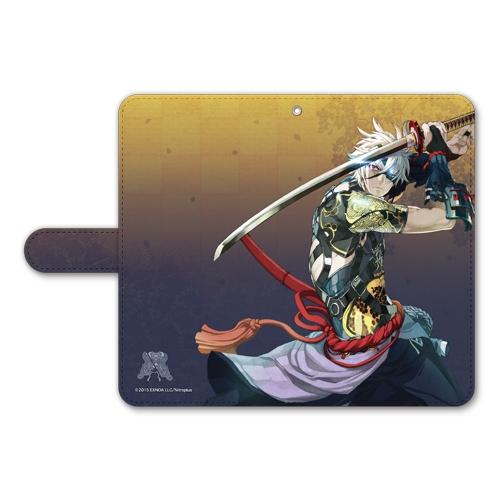 刀剣乱舞-ONLINE- 手帳型モバイルフォンケース(フリーサイズ)86:鬼丸国綱_0