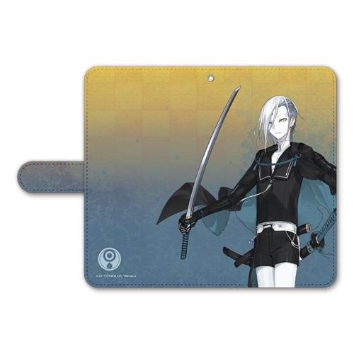 刀剣乱舞-ONLINE- 手帳型モバイルフォンケース(フリーサイズ)88:地蔵行平_0