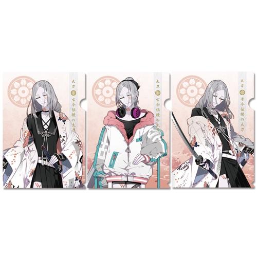 刀剣乱舞-ONLINE- クリアファイルセット87:古今伝授の太刀_0