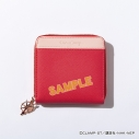 【グッズ-財布】カードキャプターさくら クリアカード編×DRESSCAMP 木之本桜モデルバイカラーハーフウォレット(パステルレッド)の画像