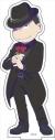 【グッズ-スタンドポップ】おそ松さん BIGアクリルスタンド『ダークスーツver.』 (1)おそ松の画像