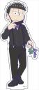 【グッズ-スタンドポップ】おそ松さん BIGアクリルスタンド『ダークスーツver.』 (4)一松の画像