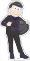 【グッズ-スタンドポップ】おそ松さん BIGアクリルスタンド『ダークスーツver.』 (5)十四松の画像