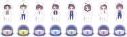 【グッズ-キーホルダー】ヘタリア World★Stars アクリルキーホルダーコレクション vol.2の画像