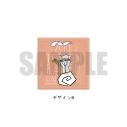 【グッズ-バッチ】続『刀剣乱舞-花丸-』 レザーバッジ(K) PlayP-FB 物吉貞宗の画像