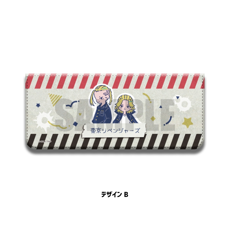 【グッズ-小物入れ】東京リベンジャーズ 小物ケース RetoP-B マイキー&ドラケン