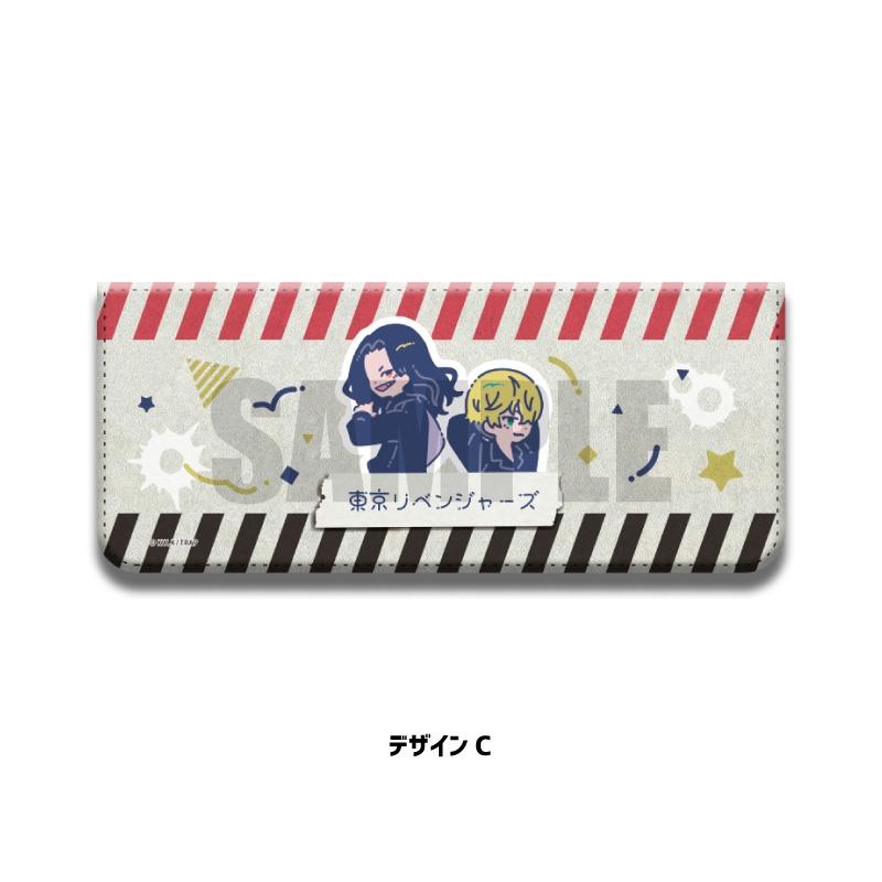 【グッズ-小物入れ】東京リベンジャーズ 小物ケース RetoP-C 場地&千冬