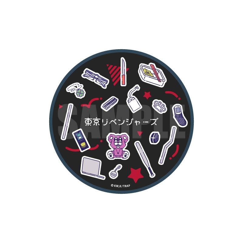 【グッズ-電化製品】東京リベンジャーズ ワイヤレスバッテリー RetoP-A モチーフデザイン