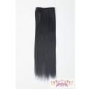 【コスプレ-ウィッグ】毛束30cm - ダークネイビー(限定色)の画像