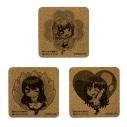 【グッズ-コースター】幼なじみが絶対に負けないラブコメ コルクコースター3種セットの画像