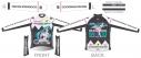 【サイクルウェア】VOCALOID サイクルウィンタージャケット レーシングミク 2019Ver. XXLサイズ【アウローラ】の画像