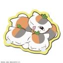 【グッズ-マウスパッド】夏目友人帳 ラバーマウスパッド デザイン04(トリプルニャンコ先生/B)の画像