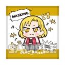 【グッズ-タオル】大川ぶくぶ×BanG Dream! ハンドタオル マスキングの画像