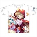 【グッズ-Tシャツ】アイドルマスター シンデレラガールズ フルカラーTシャツ 依田芳乃 詩詠みの赤ずきんver XLの画像