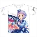 【グッズ-Tシャツ】アイドルマスター ミリオンライブ! フルカラーTシャツ 真壁瑞希 みんなへ愛をこめてver. XLの画像