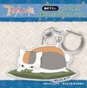 【グッズ-ストラップ】夏目友人帳 描き下ろしニャンコ先生 お酒のアクリルストラップ(枝豆)の画像