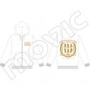 【グッズ-ジャンパー・コート】弱虫ペダル GLORY LINE パーカー/レトロモダン・ランVer. 総北高校の画像