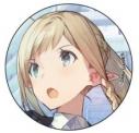 【グッズ-バッチ】流星ワールドアクター 缶バッジ クラリス・ツァインブルグの画像