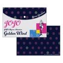 【グッズ-ポーチ】ジョジョの奇妙な冒険 黄金の風 フラットポーチ A:ジョルノ・ジョバァーナの画像
