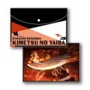【グッズ-ポーチ】鬼滅の刃 フラットポーチ Vol.2 E 煉獄杏寿郎の画像
