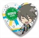 【グッズ-バッチ】アイドルマスター SideM SideMini ハート缶バッジ グローリーモノクローム 握野英雄の画像