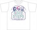 【グッズ-Tシャツ】ちまドル アイドルマスター シンデレラガールズ Tシャツ ワンステップスの画像