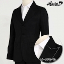 【コスプレ-衣装】リニューアル版 ピークドラペル ジャケット(男装仕様) 3つボタン ブラック XLの画像