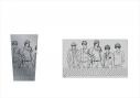 【グッズ-タンブラー・グラス】スタンドマイヒーローズ Stainless tumbler 九条家ver.の画像