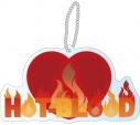 【グッズ-バッチ】オンエア! ユニットロゴアクリルバッジ Hot-Blood(ルビー)の画像