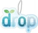 【グッズ-バッチ】オンエア! ユニットロゴアクリルバッジ drop(パール)の画像