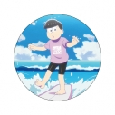 【グッズ-バッチ】おそ松さん WE ARE SURFERS デカンバッチ トド松の画像