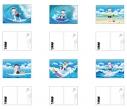【グッズ-ポストカード】おそ松さん WE ARE SURFERS ポストカードセットの画像