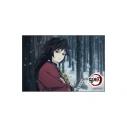 【グッズ-マグネット】鬼滅の刃 スクエアマグネット 冨岡義勇の画像
