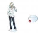 【グッズ-スタンドポップ】特価 さらざんまい デカアクリルスタンド 新星玲央 着ぐるみver.の画像