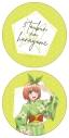 【グッズ-クッション】五等分の花嫁 ラウンドクッション 中野 四葉 浴衣ver.【アニメイト先行販売】の画像