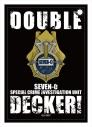 【グッズ-パスケース】DOUBLE DECKER! ダグ&キリル 合皮パスケース Aの画像