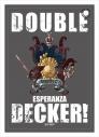 【グッズ-パスケース】DOUBLE DECKER! ダグ&キリル 合皮パスケース Bの画像