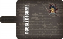 【グッズ-カバーホルダー】DOUBLE DECKER! ダグ&キリル 手帳型スマホケース Bの画像