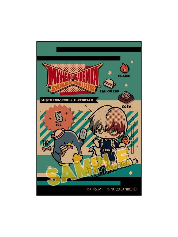 僕のヒーローアカデミア×サンリオキャラクターズ スクエアマグネット 轟焦凍×タキシードサム_0