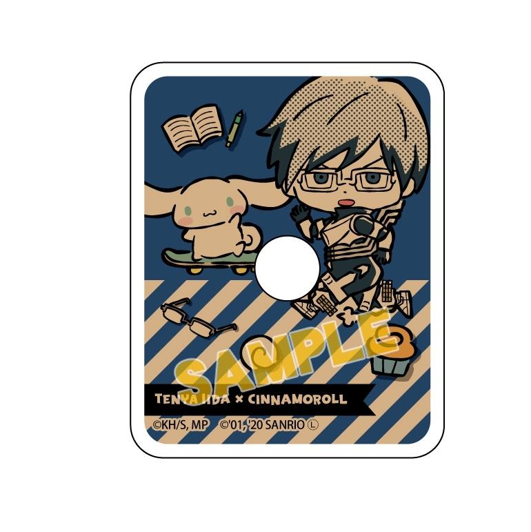 僕のヒーローアカデミア×サンリオキャラクターズ スマホリング 飯田天哉×シナモロール_0