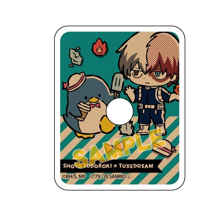 僕のヒーローアカデミア×サンリオキャラクターズ スマホリング 轟焦凍×タキシードサム_0