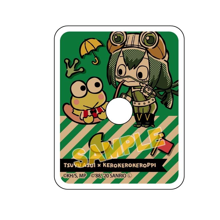 僕のヒーローアカデミア×サンリオキャラクターズ スマホリング 蛙吹梅雨 ×けろけろけろっぴ_0