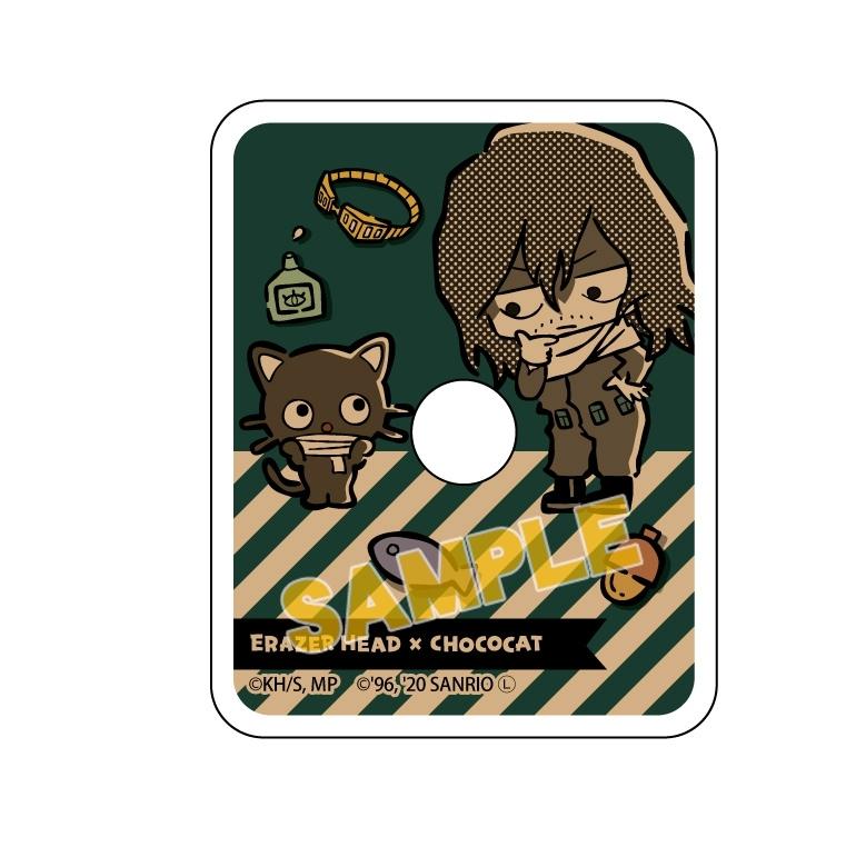 僕のヒーローアカデミア×サンリオキャラクターズ スマホリング 相澤消太×チョコキャット_0